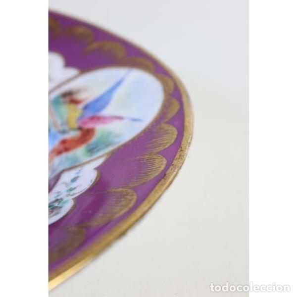 Antigüedades: Antigua bandeja de porcelana - Foto 5 - 153250174