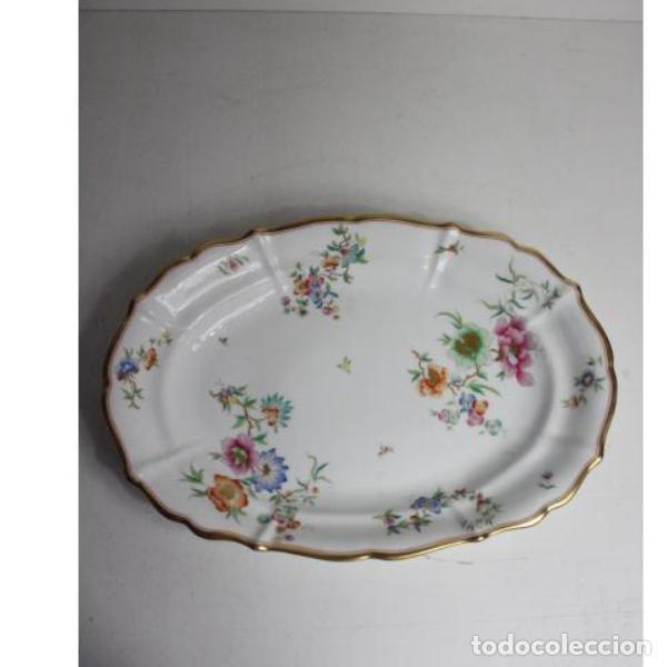 ANTIGUA FUENTE DE PORCELANA (Antigüedades - Porcelanas y Cerámicas - Otras)