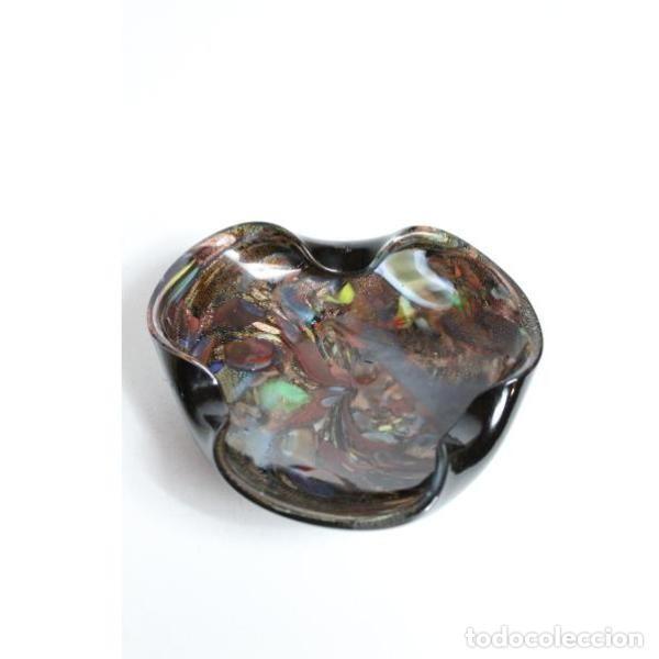 Antigüedades: Antiguo centro de cristal de murano - Foto 2 - 153251810