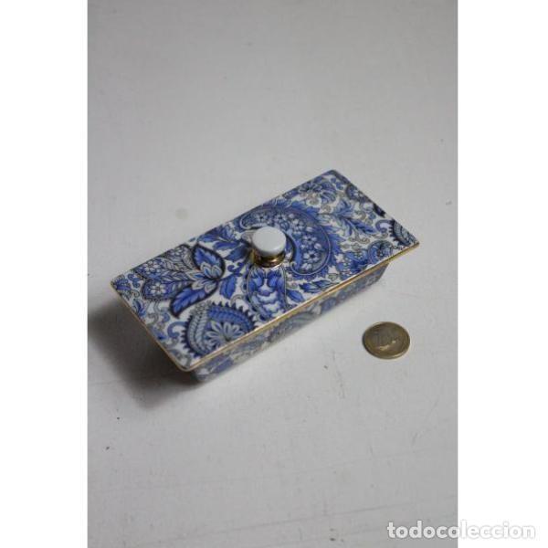 Antigüedades: Antiguo joyero de porcelana - Foto 5 - 153255894