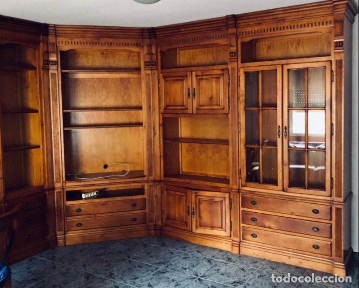 mueble salón comedor de madera maciza (tipo gua - Comprar Armarios ...
