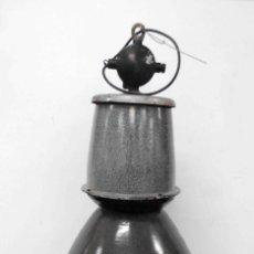Antigüedades: LÁMPARA INDUSTRIAL COLGAR. Lote 153322418