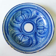 Antiguidades: ANTIGUO PLATO MANISES LAÑADO. . Lote 153343070