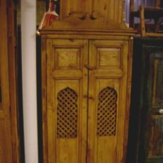 Antigüedades: ALACENA RUSTICA CON CELOSIA ARABE . Lote 153343450