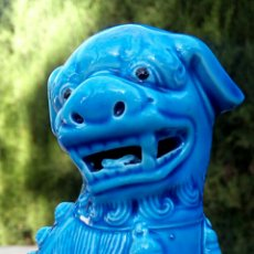 Antigüedades: PERRO FOO. DRAGON CHINO. QUIMERA. SELLADA.. Lote 153352673