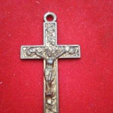 Antigüedades: CRISTO CRUCIFICADO TAMAÑO 4 CM. Lote 153353270