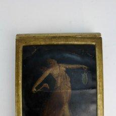 Antigüedades: ALBUM DE FOTOGRAFIAS ORIGINALES EN ALBUMINA. 1900. ENCUADERNADO, CUBIERTAS PINTADAS.. Lote 153356646