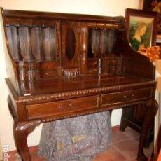 Antigüedades: ESCRITORIO ESTILO CHIPENDALE, ALTO. Lote 153360454