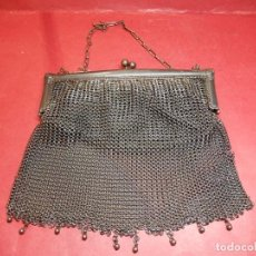 Antiques - Antiguo bolso monedero de metal. - 153374690
