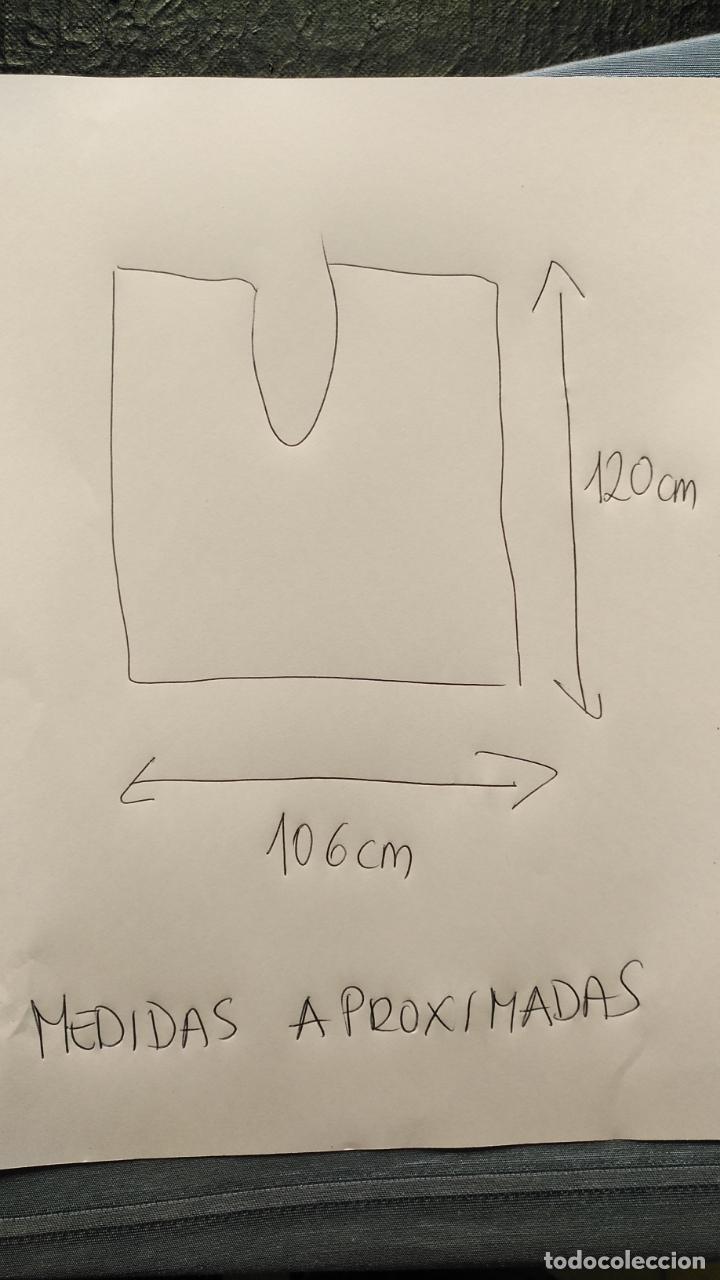 Antigüedades: maya red plateada para tocado de virgen tamaño natural , ver medidas y fotos - Foto 2 - 194222107