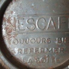 Antigüedades: NESCAFE ANTIGUO LATA CAFE. Lote 153444690