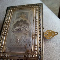 Antigüedades: * OFICIO DIVINO.LIBRO 1843.TAPAS PLATA SOBREDORADA. (RF: BV/G*). Lote 153454322