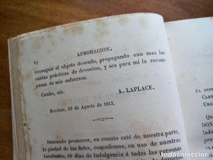Antigüedades: * OFICIO DIVINO.LIBRO 1843.TAPAS PLATA SOBREDORADA. (RF: BV/g*) - Foto 5 - 153454322