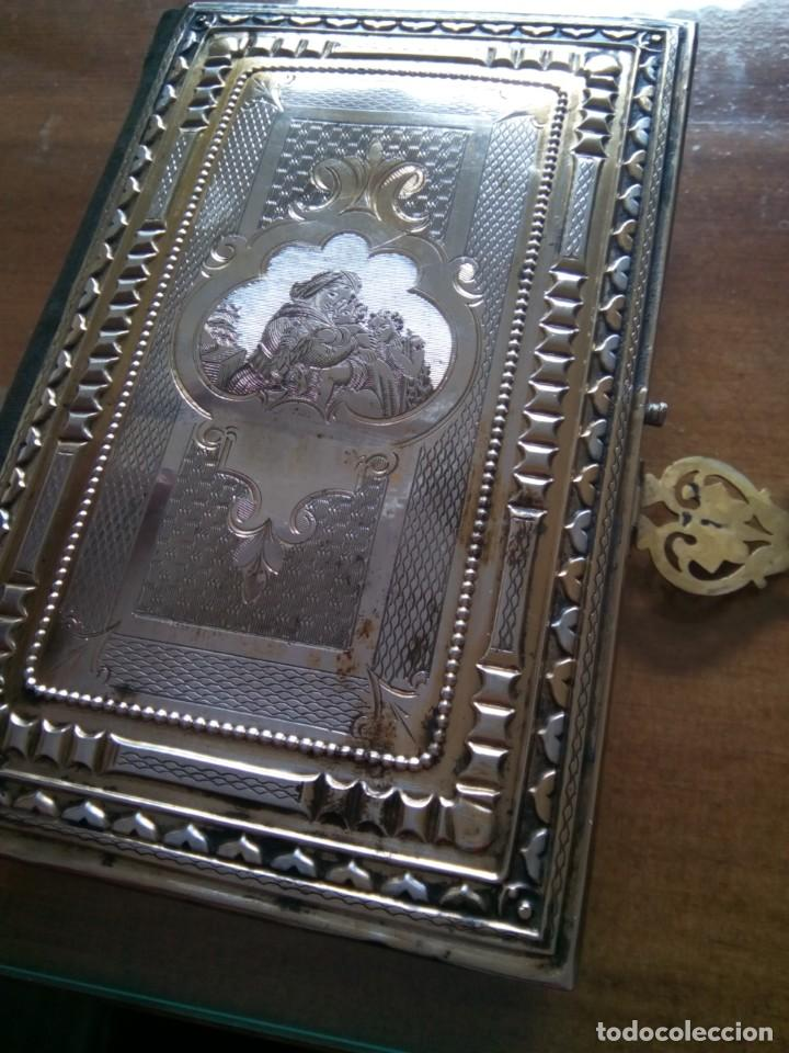 Antigüedades: * OFICIO DIVINO.LIBRO 1843.TAPAS PLATA SOBREDORADA. (RF: BV/g*) - Foto 17 - 153454322