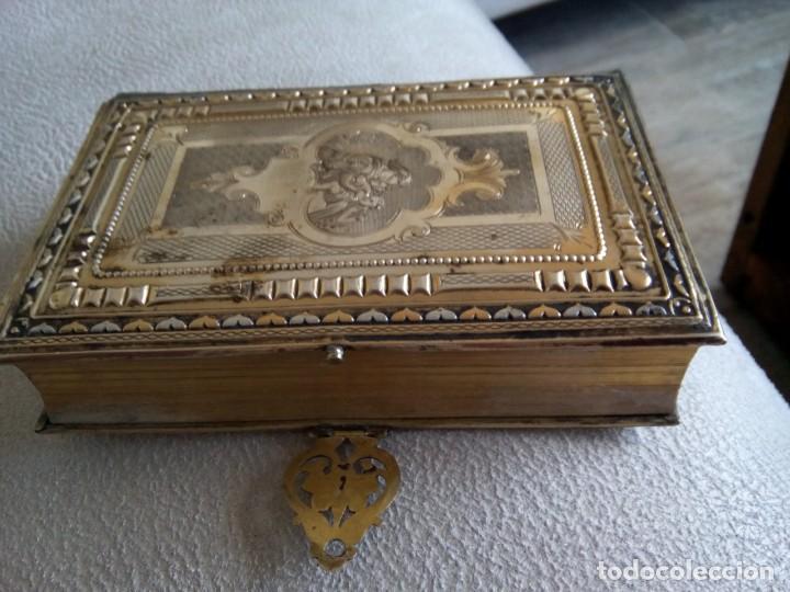 Antigüedades: * OFICIO DIVINO.LIBRO 1843.TAPAS PLATA SOBREDORADA. (RF: BV/g*) - Foto 18 - 153454322