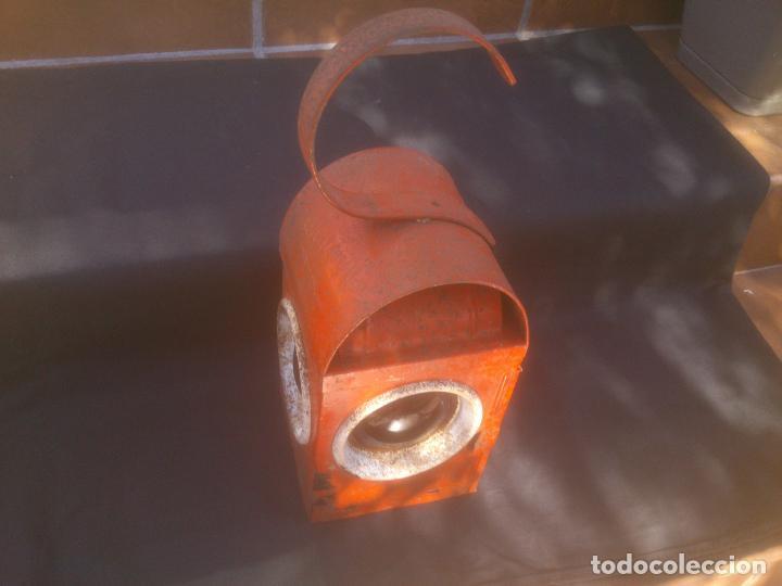 Antigüedades: farol Estacion de tren Francia - Foto 2 - 153507554