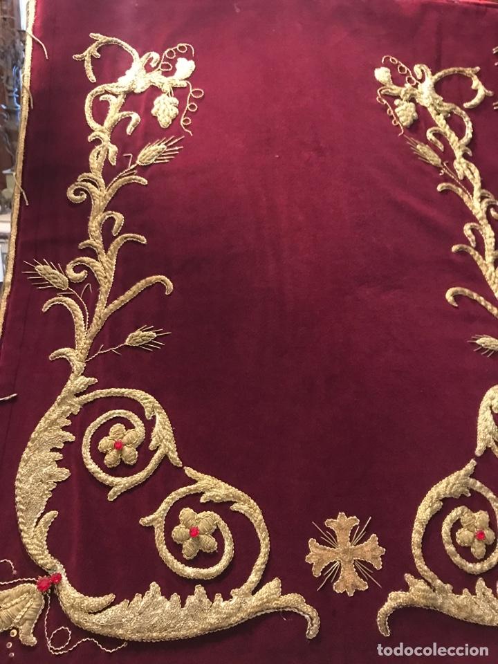Antigüedades: Estandarte bordado en oro fino - Foto 2 - 153514368