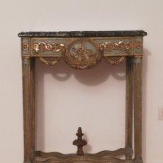 Antigüedades: CONSOLA FRANCESA S. XVIII (1775). Lote 153572406