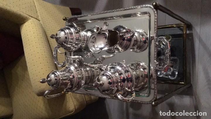 Antigüedades: Juego de café de plata - Foto 2 - 153573634