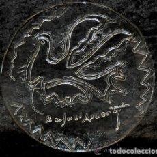 Antigüedades: CLASICO PLATO EN CRISTAL PALOMA DE LA PAZ RAFAEL ALBERTI VINTAGE. Lote 153575626
