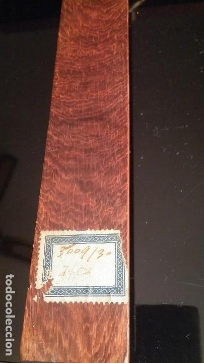Antigüedades: Crucifijo de pared de madera - Foto 5 - 153607774