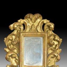 Antigüedades: CORNUCOPIA EN MADERA DORADA S. XVIII. Lote 153613938