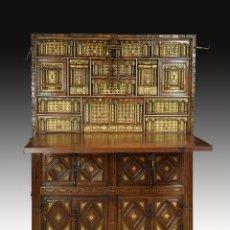 Antigüedades: BARGUENO SALMANTINO CON TAQUILLON S. XVII. Lote 153614034