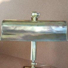 Antigüedades: LAMPARA DE SOBREMESA, DESPACHO, OFICINA VINTAGE, AÑOS 1930-40. Lote 153625126