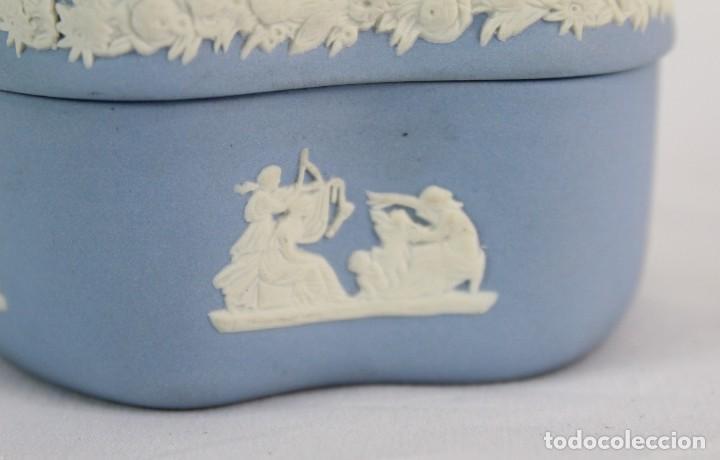 Antigüedades: Caja en porcelana biscuit inglesa. - Foto 3 - 153642058