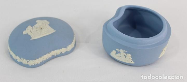 Antigüedades: Caja en porcelana biscuit inglesa. - Foto 4 - 153642058