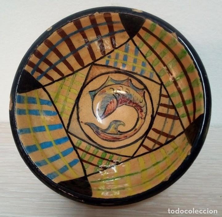 Antigüedades: Martí Coll Magda, Barcelona 1945 estudios de cerámica, en la Escuela del Trabajo de la Diputación de - Foto 2 - 153646318