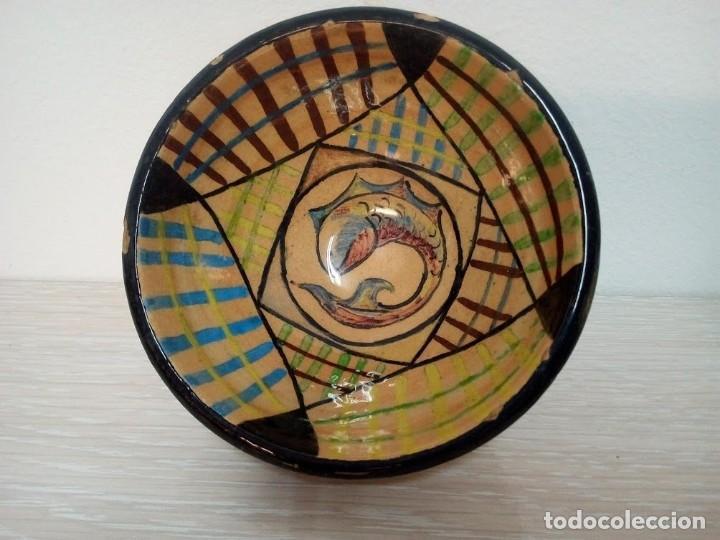 Antigüedades: Martí Coll Magda, Barcelona 1945 estudios de cerámica, en la Escuela del Trabajo de la Diputación de - Foto 3 - 153646318
