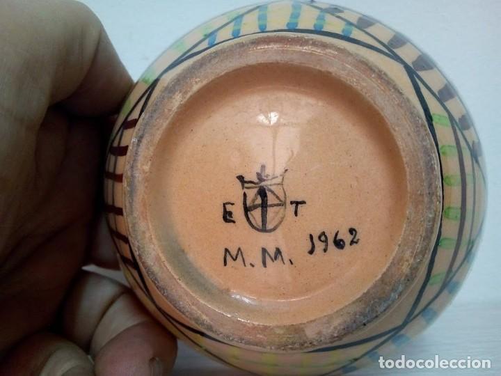 Antigüedades: Martí Coll Magda, Barcelona 1945 estudios de cerámica, en la Escuela del Trabajo de la Diputación de - Foto 7 - 153646318