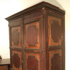 Antigüedades: ARMARIO PINTADO DEL S. XVIII. Lote 153687342