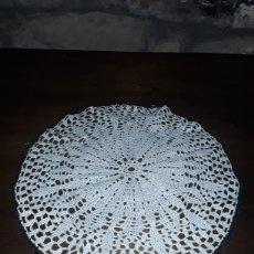 Antigüedades: TAPETE DE ENCAJE GRANDE. Lote 153698305