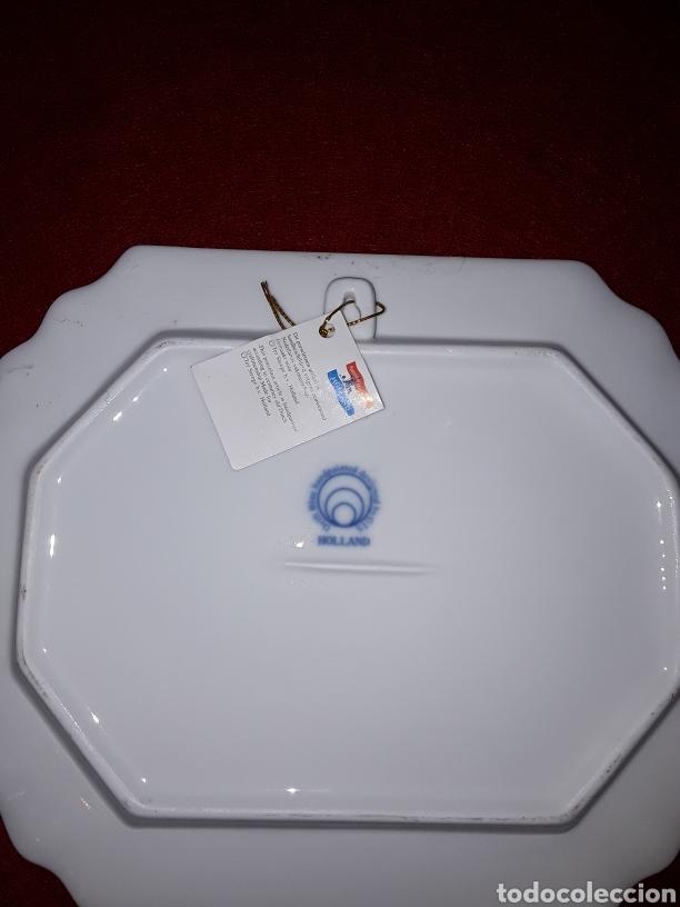 Antigüedades: Plato de porcelana holandesa - Foto 2 - 153716425
