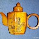Antigüedades: ANTIGUO PERFUMERO TABAQUERA CHINO CON FORMA DE TETERA VER FOTOS Y DESCRIPCION. Lote 153732854