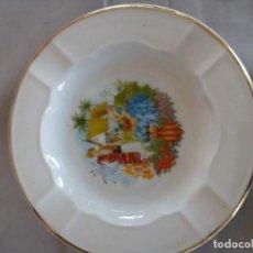 Antigüedades: ANTIGUO CENICERO DE VALENCIA DE SANTA CLARA. Lote 153734774