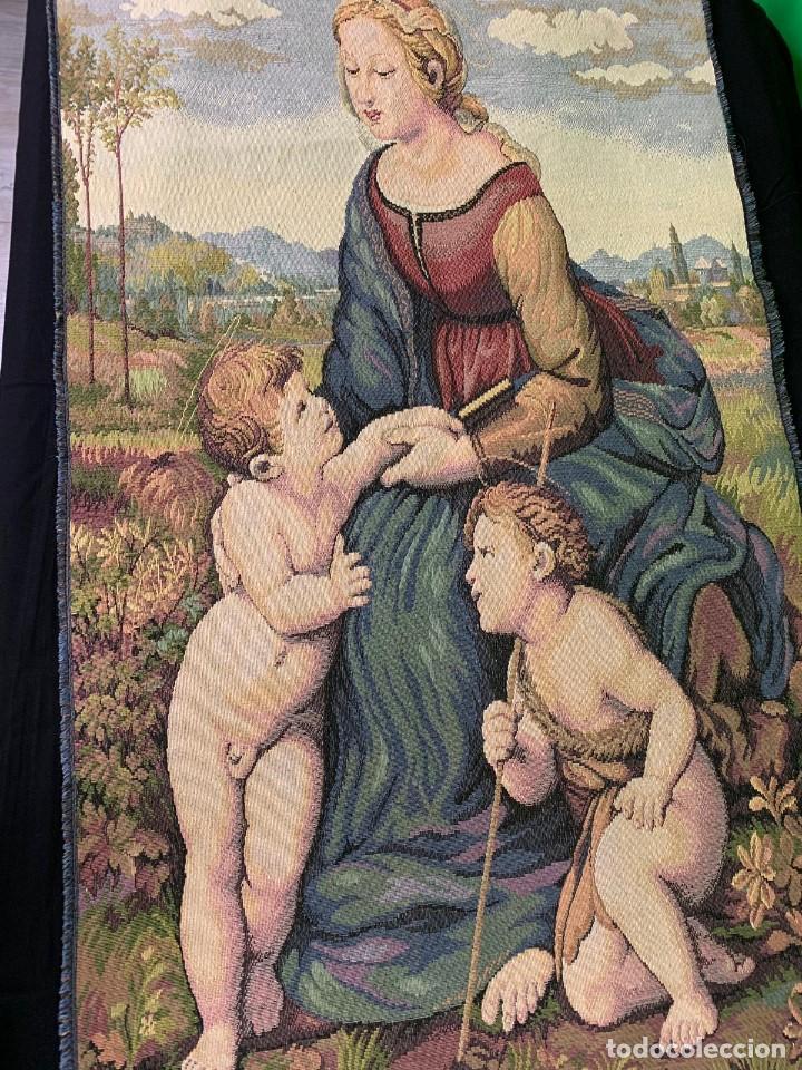 Antigüedades: TAPIZ RELIGIOSO - Foto 2 - 153748626