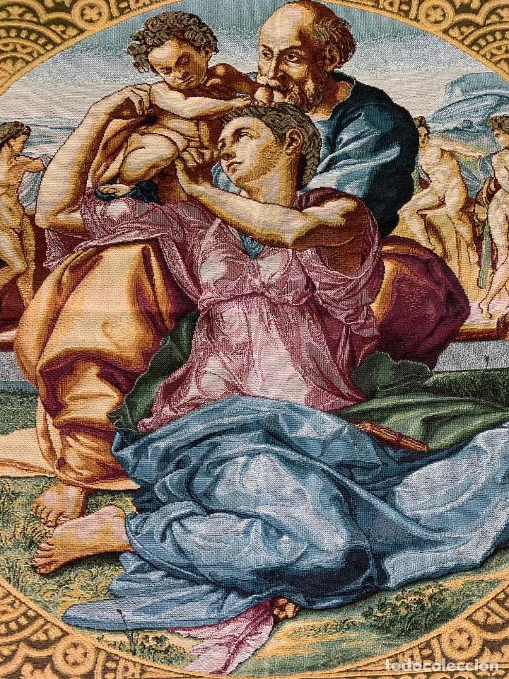Antigüedades: TAPIZ RELIGIOSO - Foto 2 - 153748642