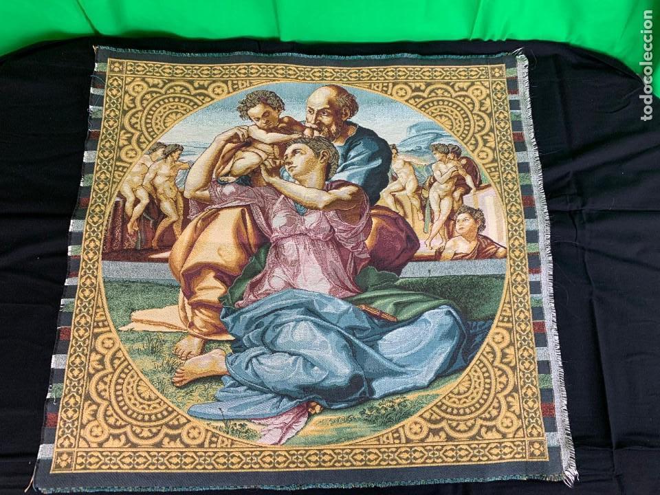 Antigüedades: TAPIZ RELIGIOSO - Foto 3 - 153748642
