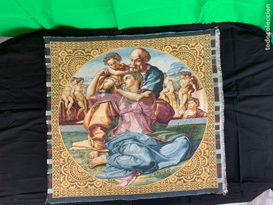 TAPIZ RELIGIOSO (Antigüedades - Religiosas - Varios)