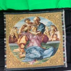 Antigüedades: TAPIZ RELIGIOSO. Lote 153748642