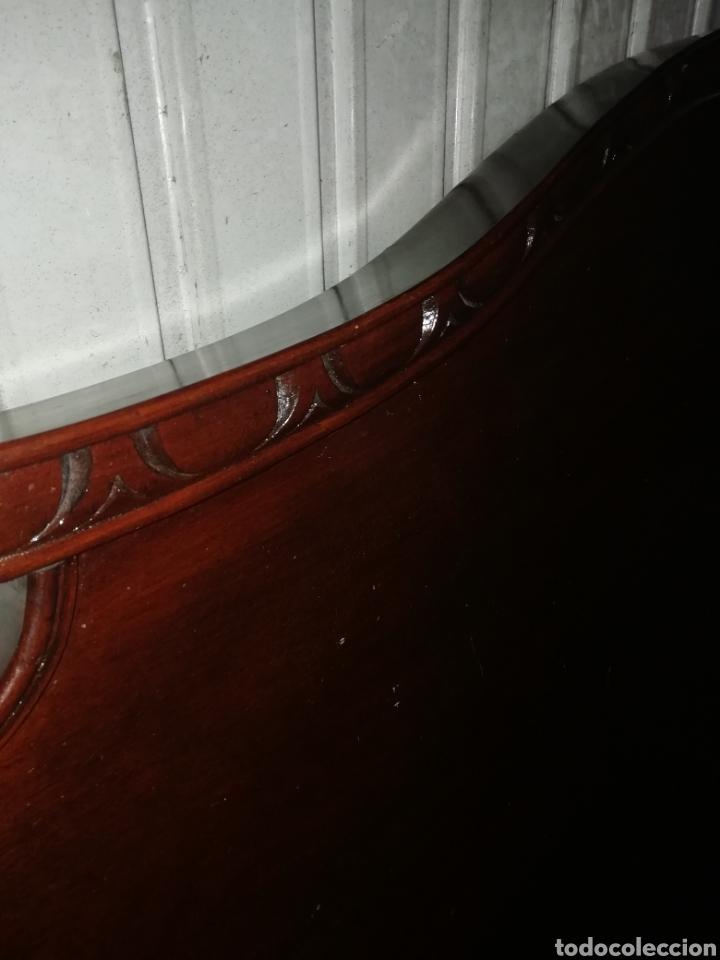 Antigüedades: Cabecero y piecero de madera - Foto 3 - 153761057