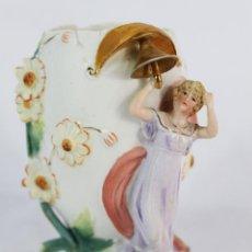 Antigüedades: BISCUIT DAMA ART NOUVEAU FINES S XIX. Lote 153803842