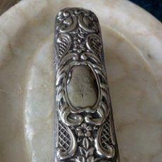 Antigüedades: CEPILLO VICTORIANO PLATA ESTERLINA. Lote 153824322
