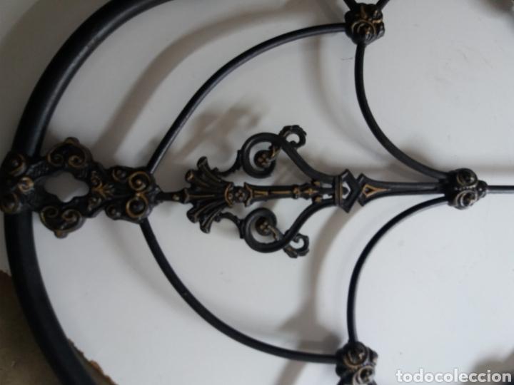 Antigüedades: Cabezal de Cama de hierro - Foto 5 - 153925402