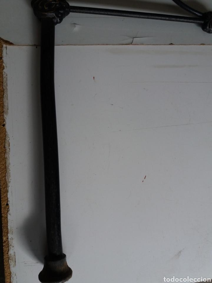 Antigüedades: Cabezal de Cama de hierro - Foto 8 - 153925402