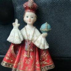 Antigüedades: FIGURA RELIGIOSA, DE PLÁSTICO DURO. Lote 153943878