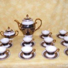 Antigüedades: JUEGO CAFE PORCELANA. Lote 164455244